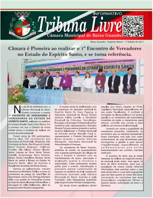 Tribuna Livrre | 1º Trimestre